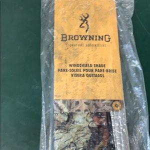 Browning windshield shade Camo mossy oak sunshade